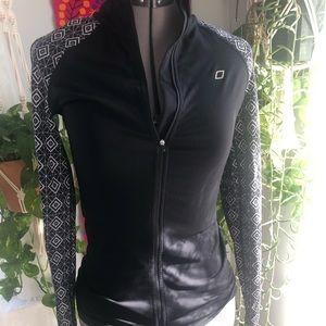 Lorna Jane black zip up jacket
